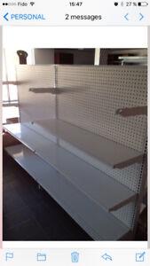 industrial  metal shelving