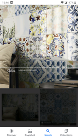 Four boxes of Baldocer Michiqb, creamic wall tiles