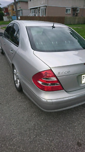 Special Mercedes Benz E500 4 MATIC