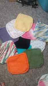 HAND KNITTED DISH CLOTHS 2.00 EACH Kitchener / Waterloo Kitchener Area image 1