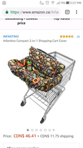 Brand new infantino 2 in 1 cart cover