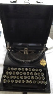 Remington typewriter antique vintage