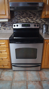 30 inch electric flat top range (self cleaning)