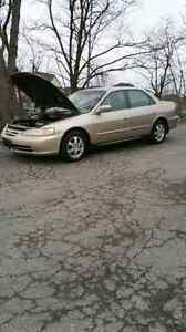 2001 Honda accord looking to trade for a 4 wheeler 250 and up