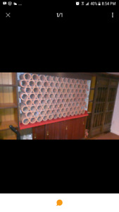 Clay tiles for wine rack