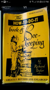 WANTED : this beekeeping book