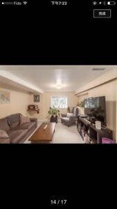 2 bedrooms ground flour suite available now