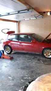 FS/FT: 1992 Civic si d16z6 turbo, blown turbo.