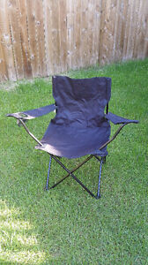 Brand New Adults Folding Camping Chairs Black