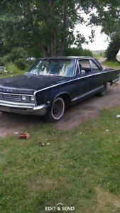 66' Chrysler windsor 2dr hardtop trade for small manual car
