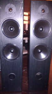 Acoustic profile speakers trade for flat screen TV