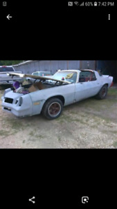 Wanted 1979 camaro parts