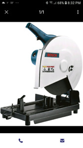 Looking for chop saw  bosch
