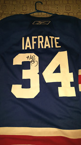 Autographed Al Iafrate jersey  (make an offer)