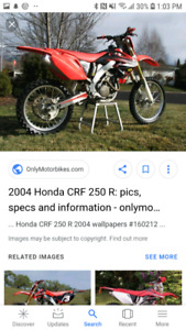 Looking for a dirtbike