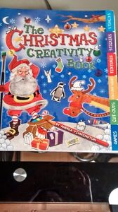 Christmas Creativity Book w/Stickers