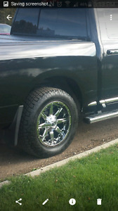 "20"" fuel rims on grappler rubber"