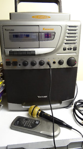 REDUCED PRICE KARAOKE Machine with 35 CDs and Mic(s) & Remote