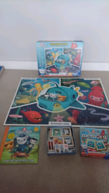 Octonauts giant floor puzzle, book and memory game toy