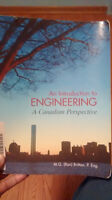 An Introduction to Engineering: A Canadian Perspective