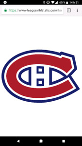 Canadiens vs jets
