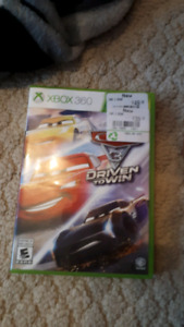 Xbox 360 cars 3 driven to win game