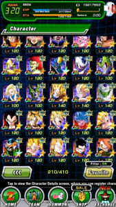 Dragonball Z Dokkan Battle Global Endgame Account