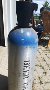 Compressed gas cylinders various sizes