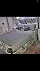 🌟Brand new Sleigh beds with headboard and mattress 💥Free delivery!!