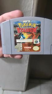Pokemon stadium n64 $30