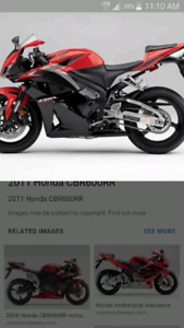 Looking for cbr600rr