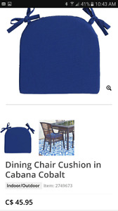 Pier One dining chair cushions 6