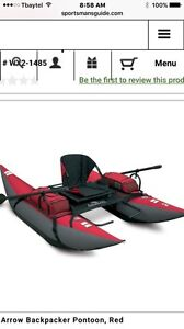 Arrow Backpacker Pontoon