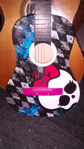 Guitare monster high