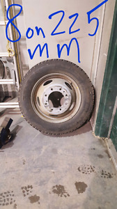 "1999+ Ford Superduty 19.5"" tire and rim"