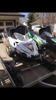 2 Arctic Cats/Covers/Trailer Package Deal!