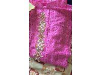 Cotton long sleeve Pakistani tops medium sizes