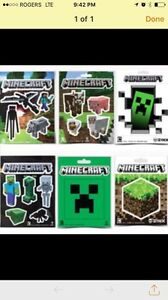 Minecraft Stickers. Jinx