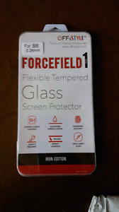 S6 Tempered glass screen protector