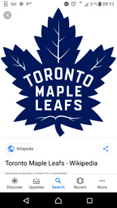TORONTO MAPLE LEAF TICKETS FROM $45 CHEAP
