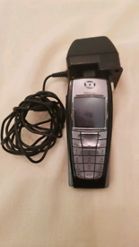Working Black Nokia Classic 6220 Mobile Phone
