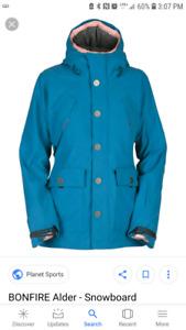Womens Bonfire Platnium Series Jacket