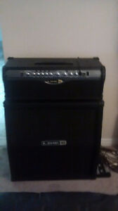 Line 6 spider 2  100 watt with stereo  4x 12 cab