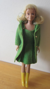 1963 Vintage Mattel Skooter Barbie doll