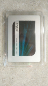 2.5 inch Crucial MX500 SSD drives