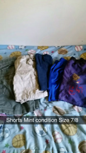 Boys Clothes size 7/8 and 10/12