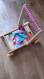 Mothercare wooden walker