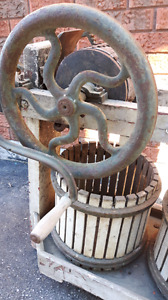 19th century Apple Cider crusher/press