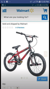 18 inch beand new bmx bike still in box 60% off!