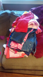 Assorted girl clothes size 18 m to 3T